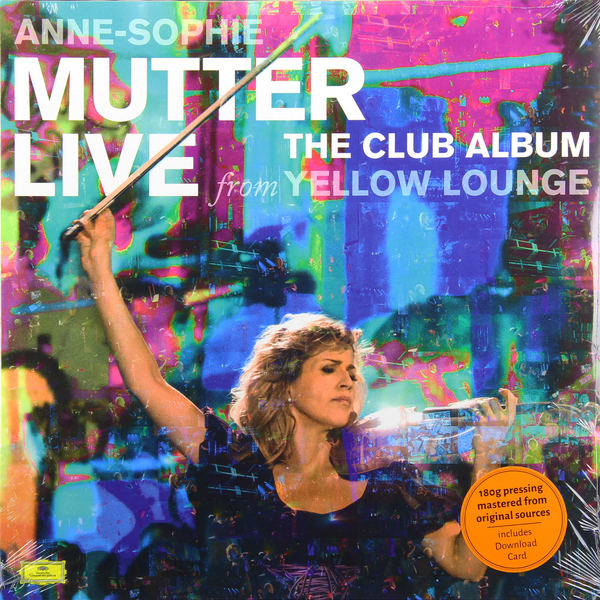 Anne-sophie Mutter Anne-sophie Mutter - The Club Album (2 Lp, 180 Gr) анна софи муттер ламберт оркис anne sophie mutter lambert orkis beethoven die violinsonaten 4 cd