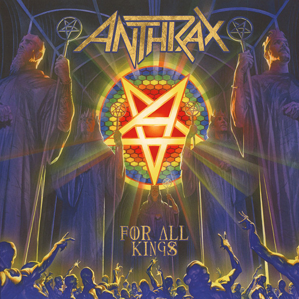 Anthrax Anthrax - For All Kings (2 LP) anthrax – state of euphoria