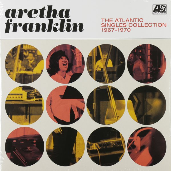Aretha Franklin Aretha Franklin - The Atlantic Singles Collection 1967-1970 (2 LP) цена и фото