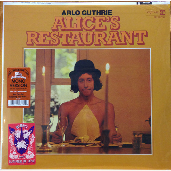 Arlo Guthrie Arlo Guthrie - Alice's Restaurant (50th Anniversary Mono) арло гатри arlo guthrie in times like these