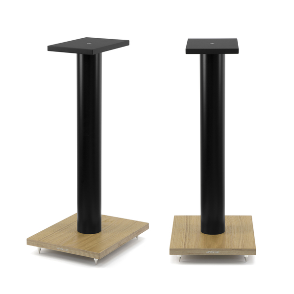 Стойка для акустики Arslab ST6 Black Tube/Wood стойка для акустики arslab st7 white tube wood