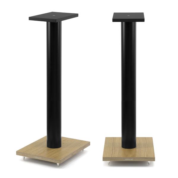 Стойка для акустики Arslab ST7 Black Tube/Wood стойка для акустики arslab st7 white tube wood