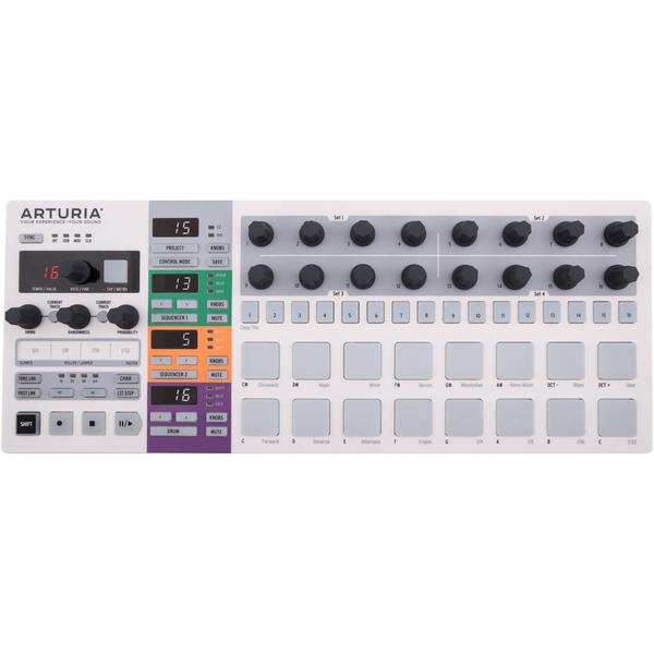 MIDI-контроллер Arturia BeatStep Pro back split floral printing midi dress