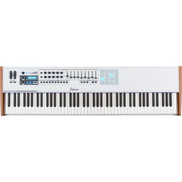 MIDI-клавиатура Arturia KeyLab 88 White midi клавиатура alesis v49