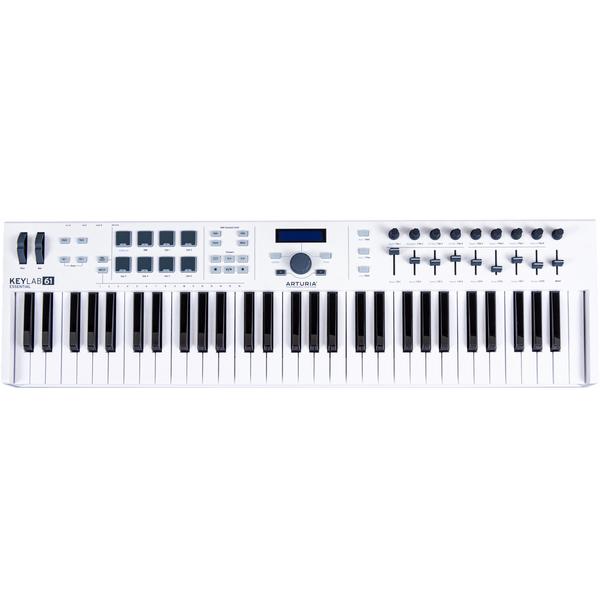 MIDI-клавиатура Arturia KeyLab Essential 61 White midi клавиатура alesis v49