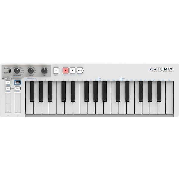 MIDI-клавиатура Arturia KeyStep White midi клавиатура alesis v49