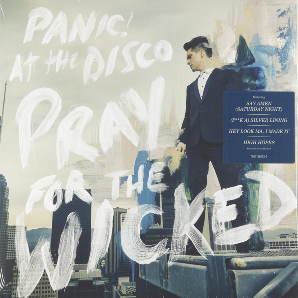 Panic! At The Disco Panic! At The Disco - Pray For The Wicked футболка panic at the disco