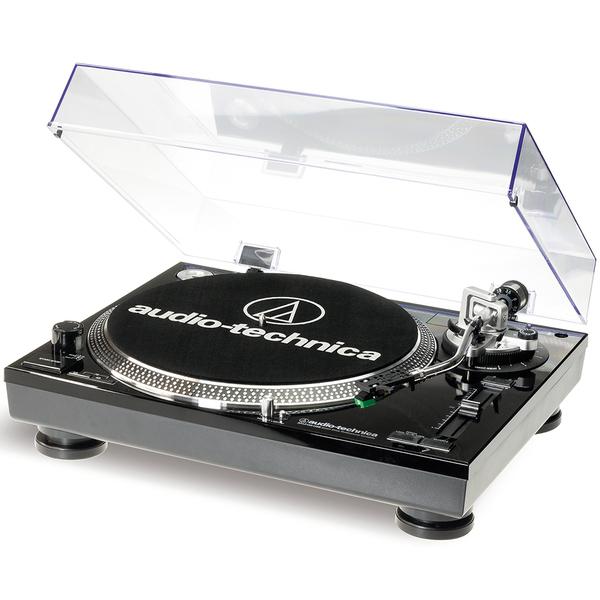Виниловый проигрыватель Audio-Technica AT-LP120 USB HC Black цена