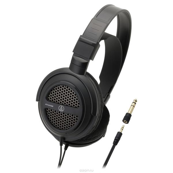 Охватывающие наушники Audio-Technica ATH-AVA300 Black охватывающие наушники audio technica ath msr7b black