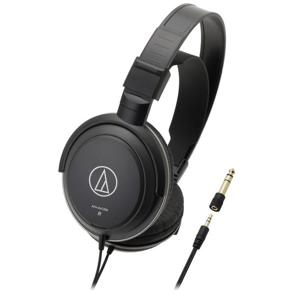 Охватывающие наушники Audio-Technica ATH-AVC200 Black наушники audio technica ath anc50is дуговые закрытого типа