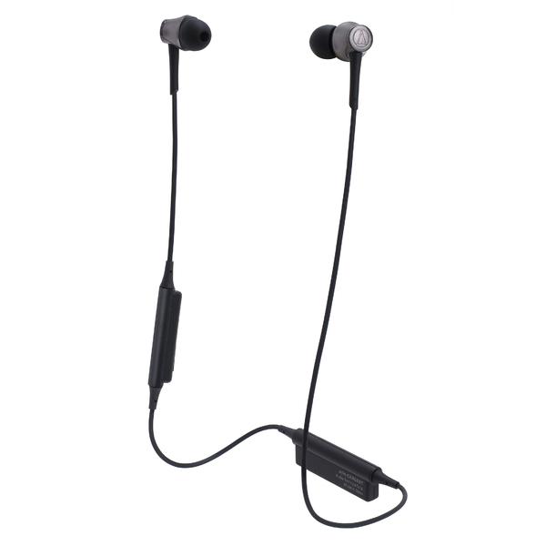 Беспроводные наушники Audio-Technica ATH-CKR55BT Black беспроводные наушники audio technica ath anc40 bt black