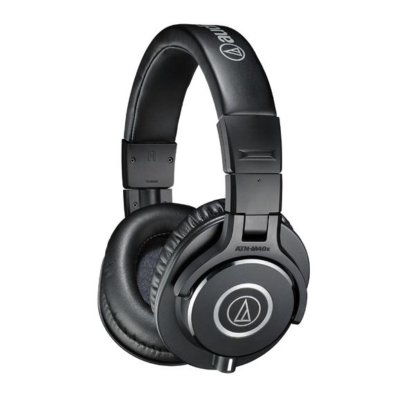 Охватывающие наушники Audio-Technica ATH-M40X Black охватывающие наушники audio technica ath msr7b black