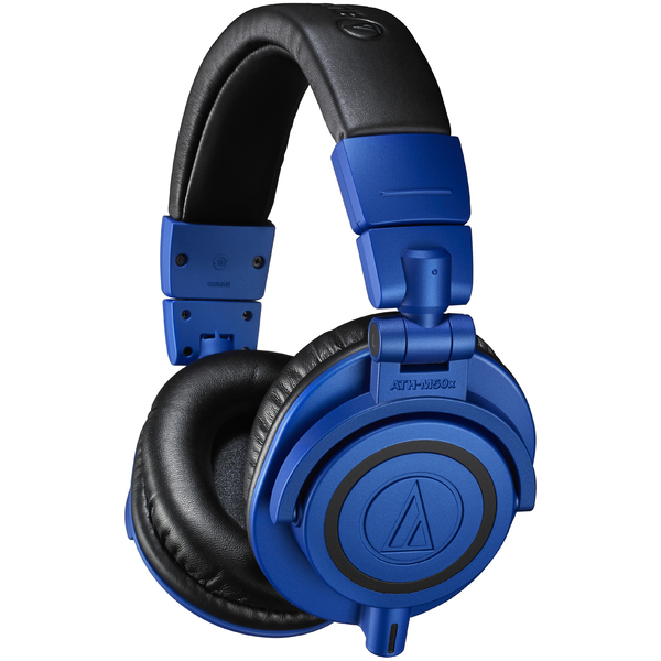Охватывающие наушники Audio-Technica ATH-M50x Black/Blue наушники audio technica ath anc50is дуговые закрытого типа