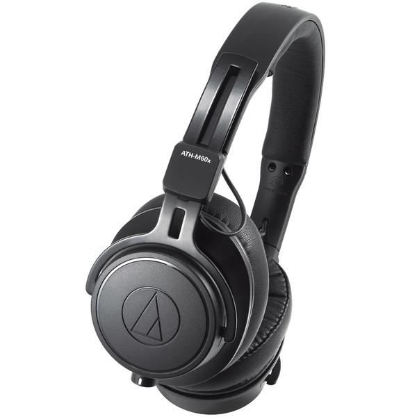Охватывающие наушники Audio-Technica ATH-M60x Black охватывающие наушники audio technica ath msr7b black