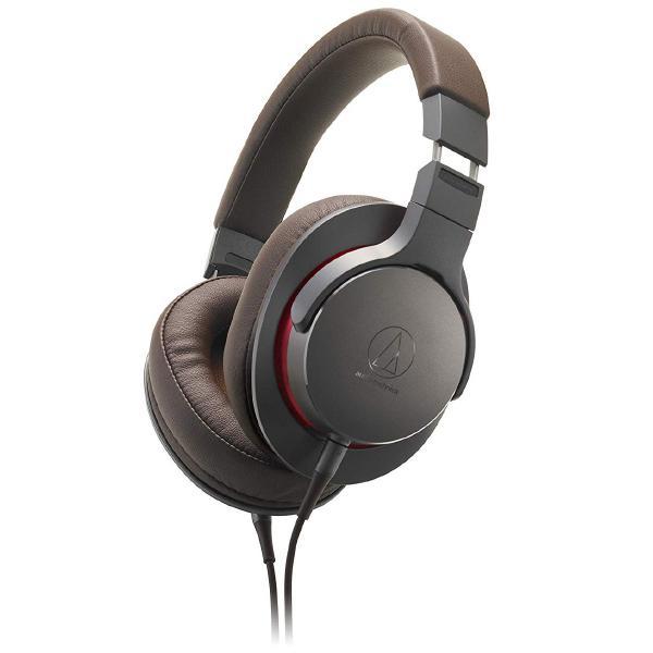 Охватывающие наушники Audio-Technica ATH-MSR7b Brown охватывающие наушники audio technica ath msr7b black