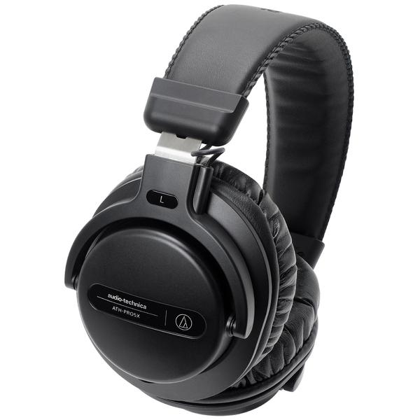 Охватывающие наушники Audio-Technica ATH-PRO5X Black охватывающие наушники audio technica ath msr7b black