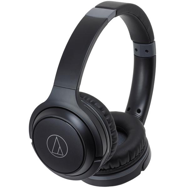 Беспроводные наушники Audio-Technica ATH-S200BT Black беспроводные наушники audio technica ath anc40 bt black