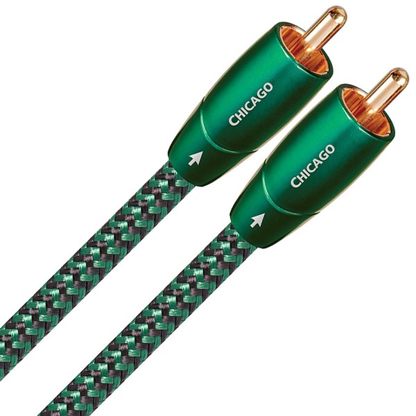 Кабель межблочный аналоговый RCA AudioQuest Chicago 0.5 m кабель