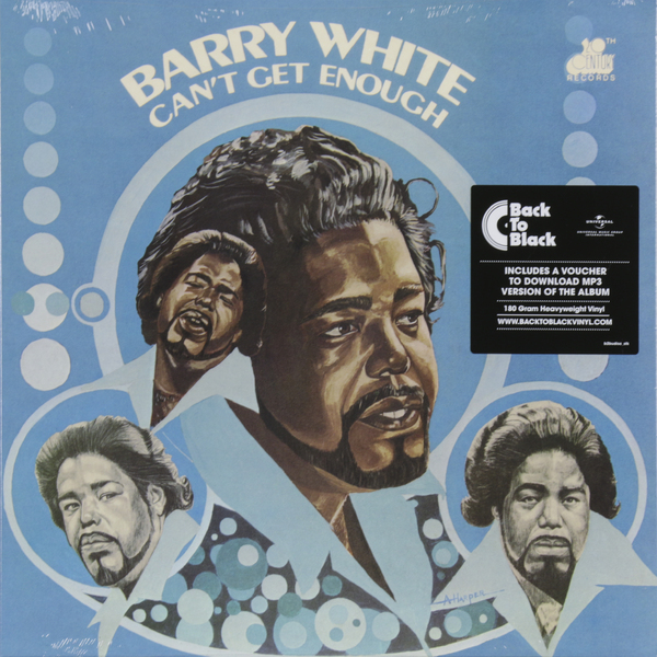 Barry White Barry White - Can't Get Enough (180 Gr)