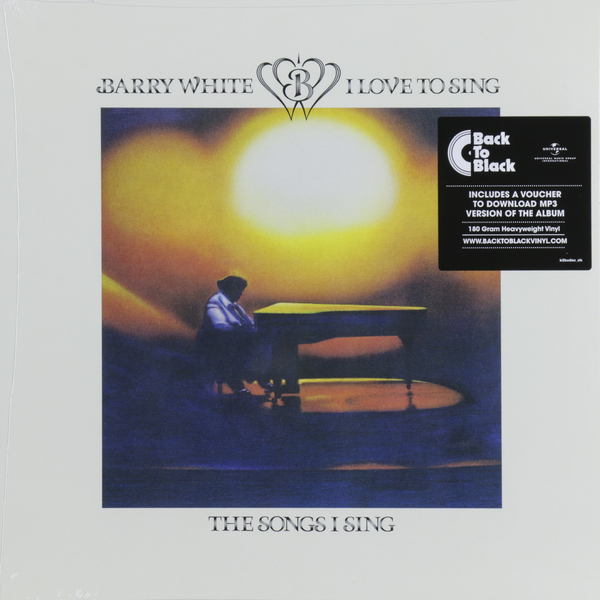лучшая цена Barry White Barry White - I Love To Sing The Songs I Sing (180 Gr)