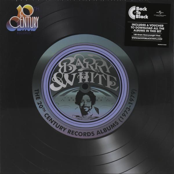 лучшая цена Barry White Barry White - The 20th Century Records Albums (9 LP)