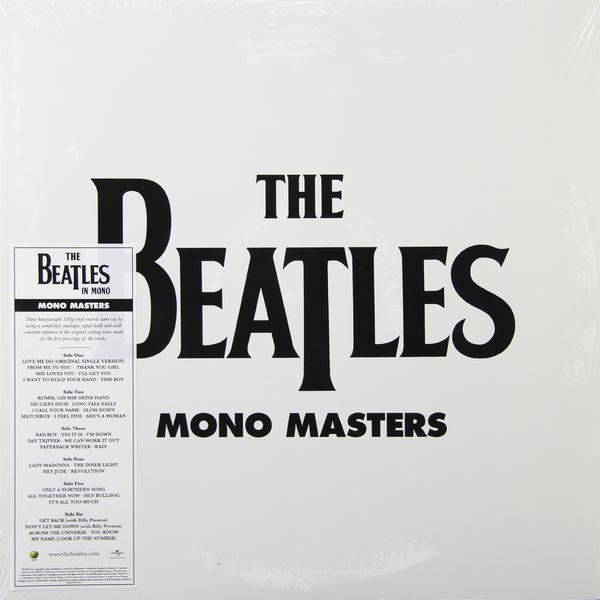 Beatles Beatles - Mono Masters (3 LP) beatles beatles white album mono