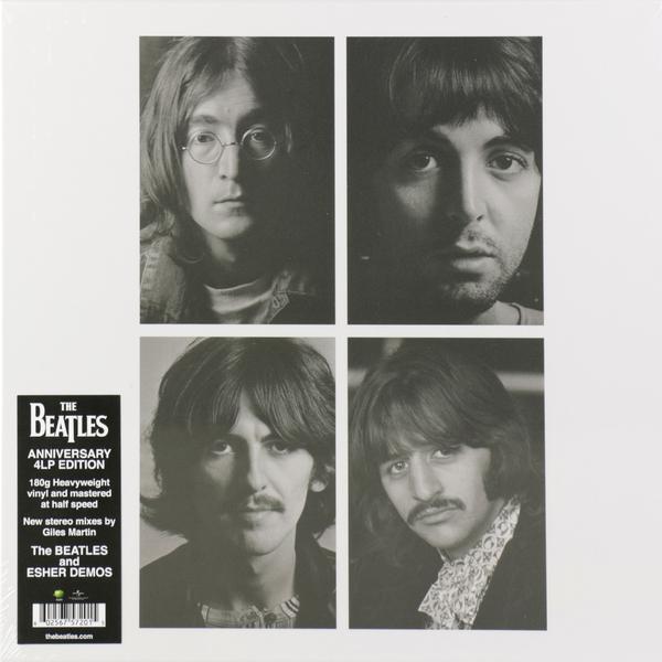 Beatles Beatles - White Album (giles Martin Mix) (4 LP) beatles beatles white album mono