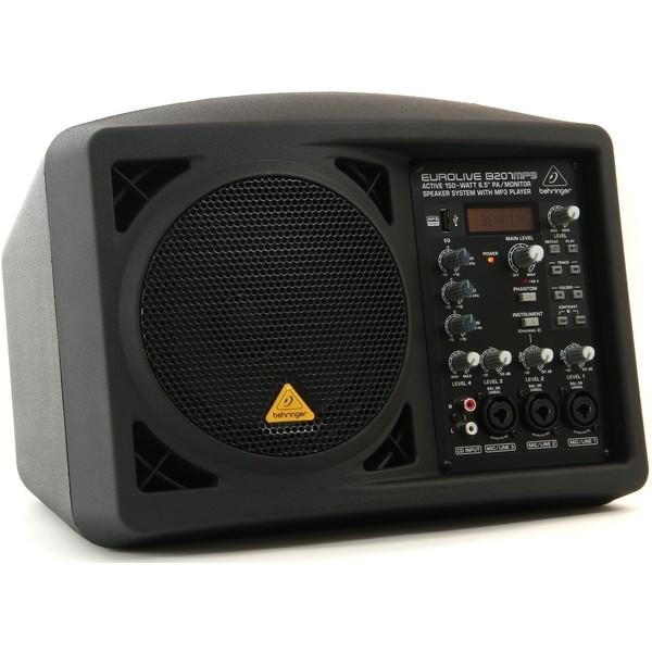 Профессиональная активная акустика Behringer EUROLIVE B207MP3 профессиональная пассивная акустика behringer eurolive professional b1520 pro