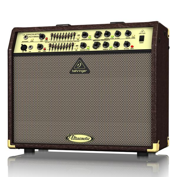 Гитарный комбоусилитель Behringer ACX1800 ULTRACOUSTIC цена и фото