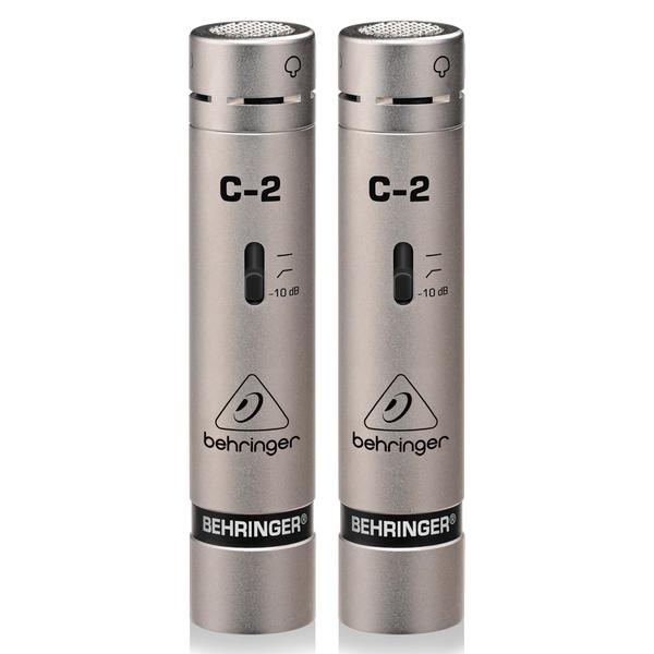 Студийный микрофон Behringer C-2 STUDIO CONDENSER MICROPHONES студийный монитор behringer truth b2030a