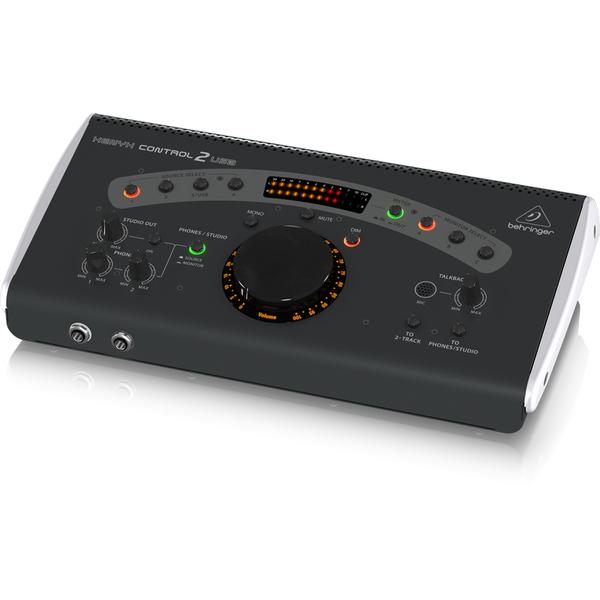 Студийный монитор Behringer Контроллер для мониторов XENYX CONTROL2USB студийные мониторы behringer контроллер для мониторов monitor1