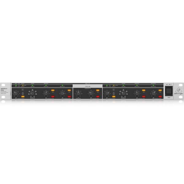 Контроллер/Аудиопроцессор Behringer Кроссовер CX2310 V2 студийные мониторы behringer контроллер для мониторов monitor1