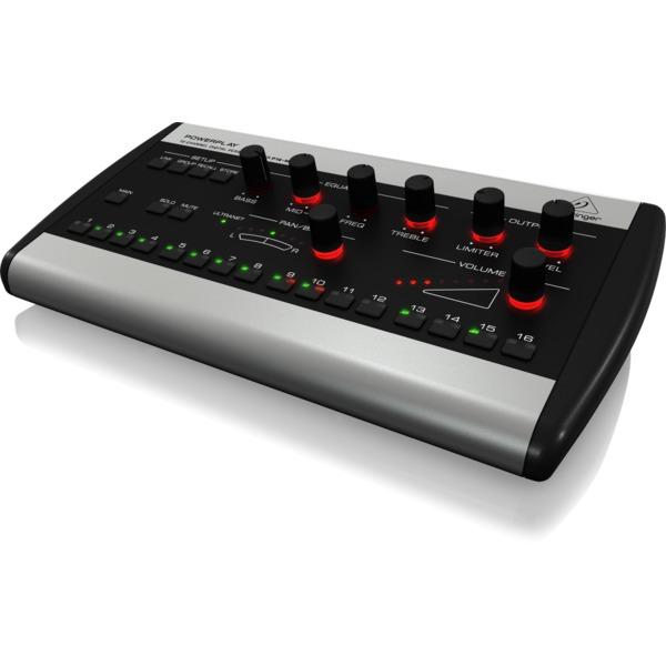 Цифровой микшерный пульт Behringer POWERPLAY P16-M концертные акустические системы behringer b1520pro