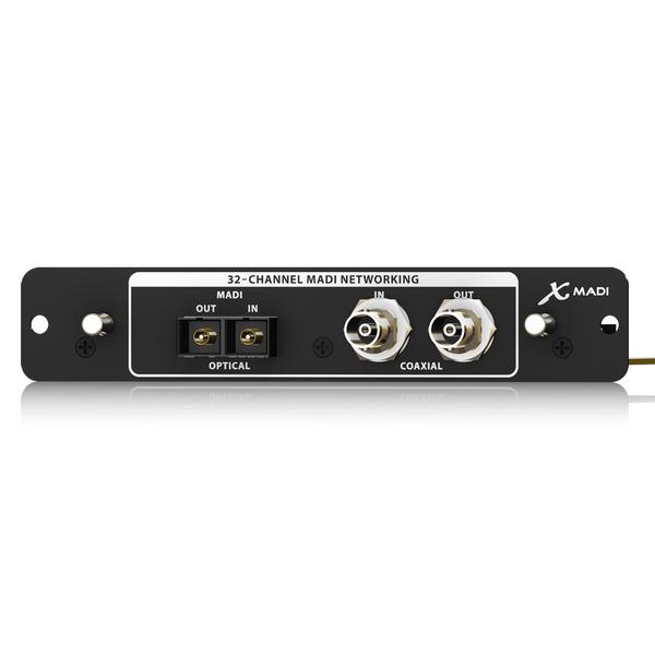 Плата расширения Behringer X-MADI аудиоинтерфейс behringer u phoria um2