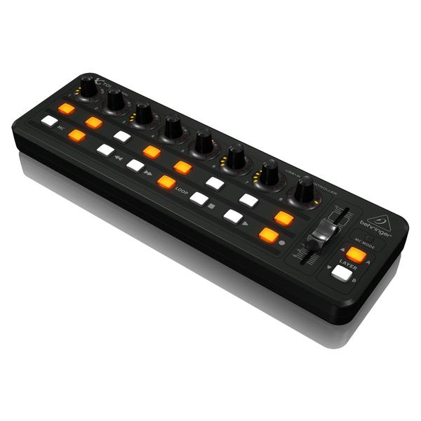 MIDI-контроллер Behringer X-TOUCH Mini студийные мониторы behringer контроллер для мониторов monitor1