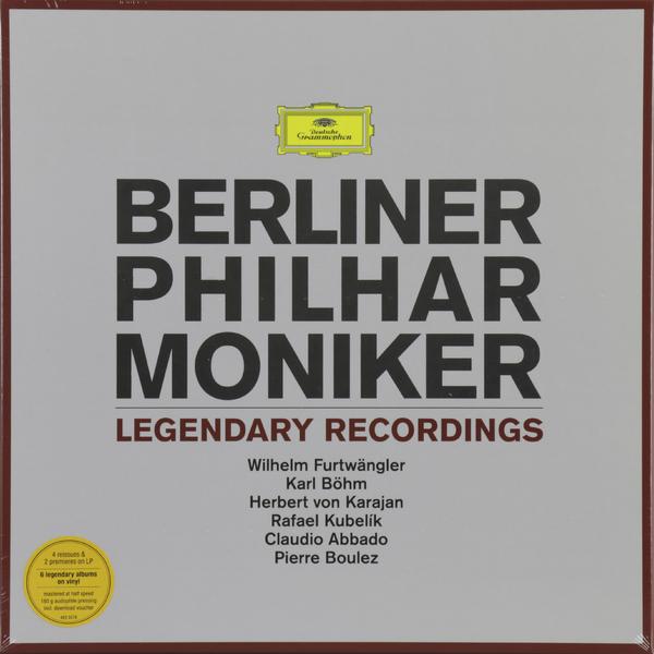 Berliner Philharmoniker Berliner Philharmoniker - Legendary Recordings (6 LP) berliner philharmoniker berliner philharmoniker legendary recordings 6 lp