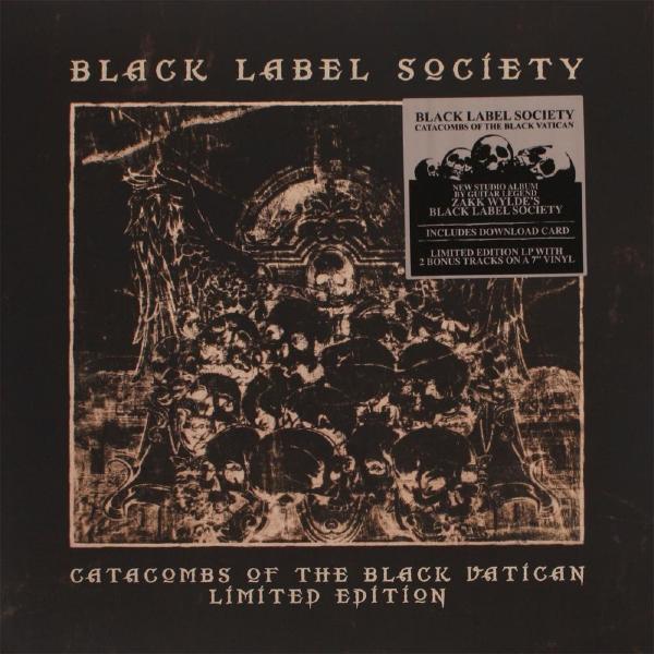 Black Label Society Black Label Society - Catacombs Of The Black Vatican (lp+7 ) razor r tec black label