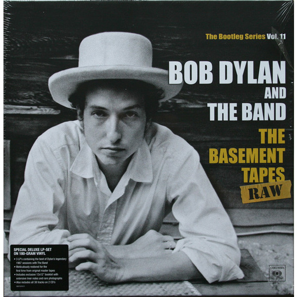 Bob Dylan Bob Dylan The Band - The Basement Tapes Raw (3 Lp+2 Cd) knot band raw trim straw hat