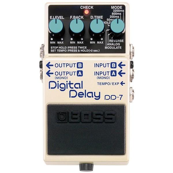 Педаль эффектов BOSS DD-7 гитарный процессор boss re 20