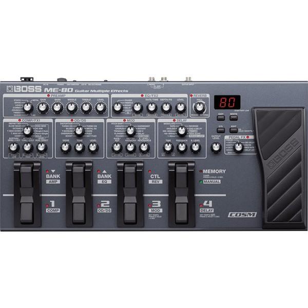 Гитарный процессор BOSS ME-80 вокальный процессор boss ve 500