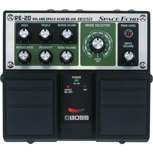 Гитарный процессор BOSS RE-20 цена и фото