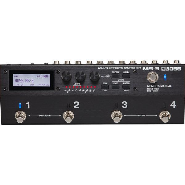 Гитарный процессор BOSS MS-3 гитарный тюнер boss tu 3