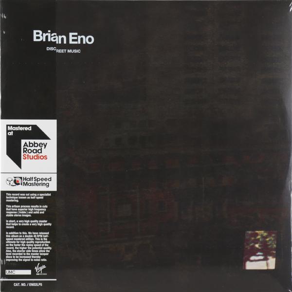 Brian Eno Brian Eno - Discreet Music (2 Lp, 45 Rpm) недорго, оригинальная цена