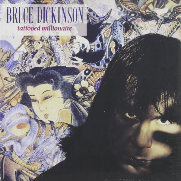 Bruce Dickinson Bruce Dickinson - Tattooed Millionaire ash dickinson strange keys