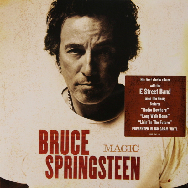 Bruce Springsteen Bruce Springsteen - Magic (180 Gr) цена и фото