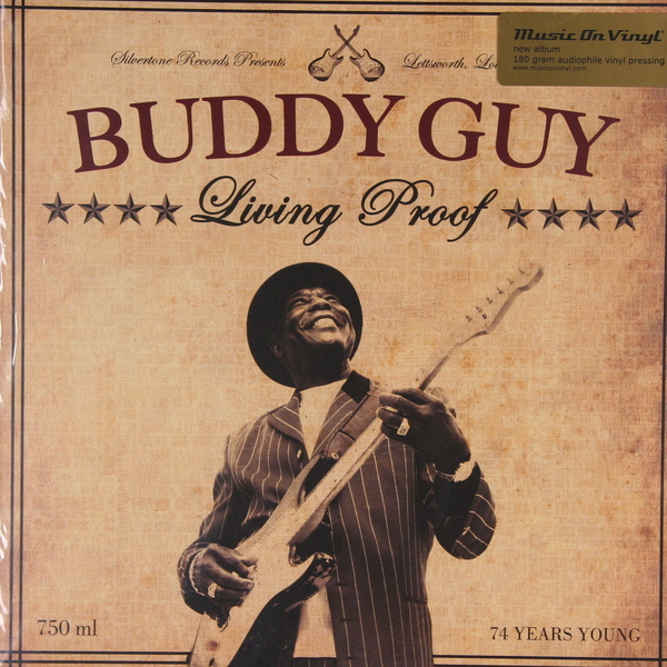 Buddy Guy Buddy Guy - Living Proof (2 Lp, 180 Gr) buddy guy buddy guy a man and the blues