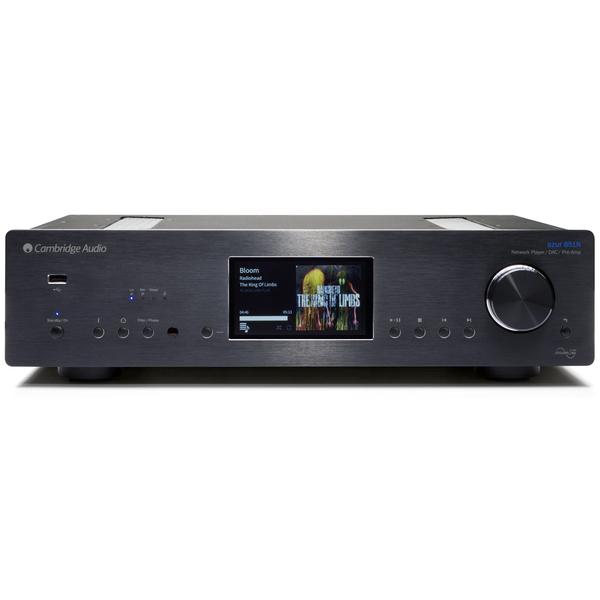 Сетевой проигрыватель Cambridge Audio Azur 851N Black стереоусилитель мощности cary audio design sa 200 2 black