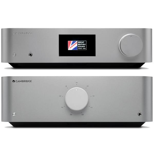 Стереоусилитель Cambridge Audio Edge A + Edge NQ Dark Grey стереоусилитель мощности cary audio design sa 200 2 black