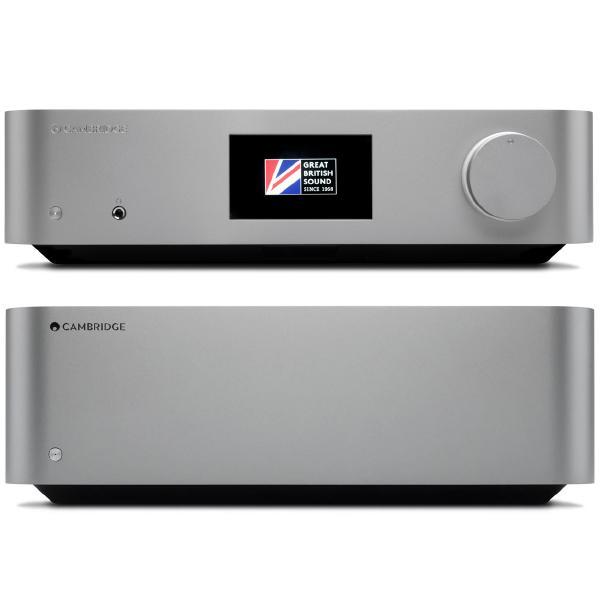Стереоусилитель мощности Cambridge Audio Edge W + Edge NQ Dark Grey цена и фото