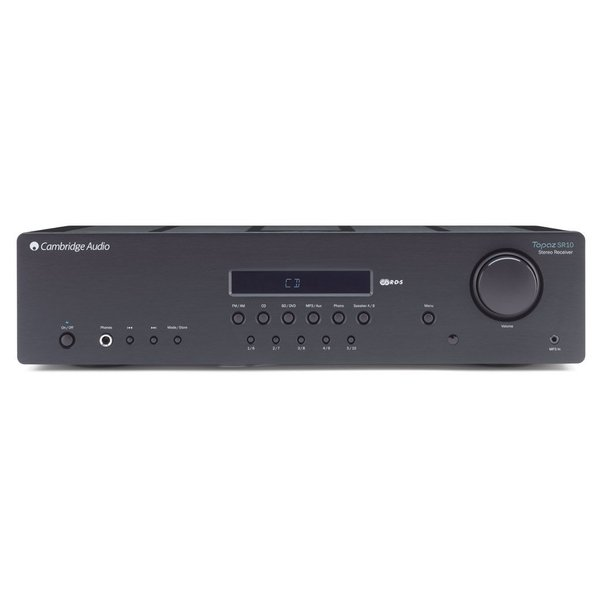 Стереоресивер Cambridge Audio Topaz SR10 v2.0 Black фонокорректор lehmann audio black cube decade black